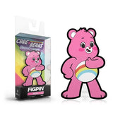 Care Bears Unlock the Magic: FiGPiN Mini Enamel Pin Cheer Bear [M53] - Fugitive Toys