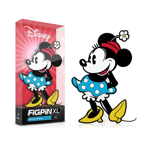 Disney: FiGPiN XL Enamel Pin Minnie Mouse [X33] - Fugitive Toys