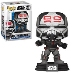Star Wars The Clone Wars Pop! Vinyl Figure Wrecker [413] - Fugitive Toys