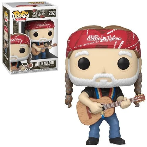 Rocks Pop! Vinyl Figure Willie Nelson [202]