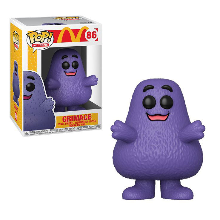 Ad Icons Pop! Vinyl Figure McDonald's Grimace [86]