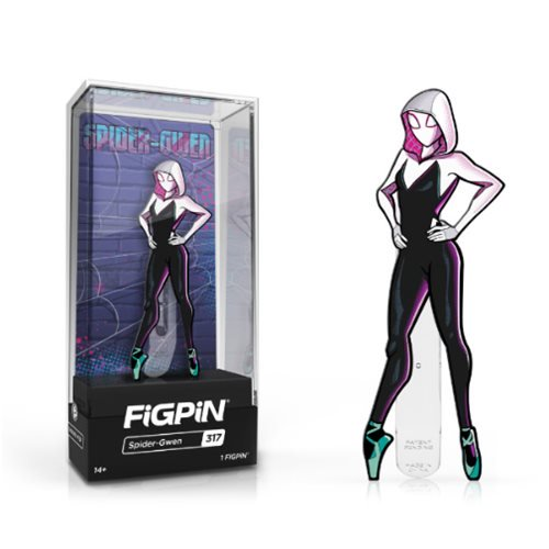 Into the Spider-Verse: FiGPiN Enamel Pin Spider-Gwen [317]