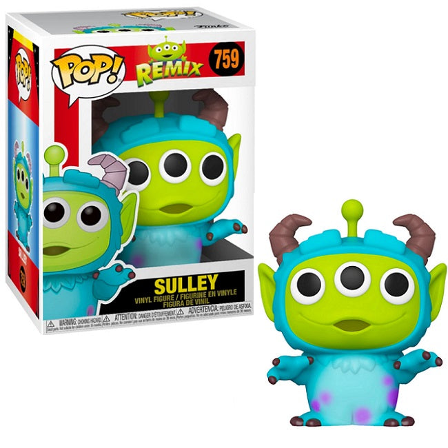 Disney Pop! Vinyl Figure Pixar Alien Remix Sulley [759]
