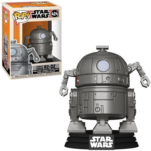 Star Wars Pop! Vinyl Figure Concept Series R2-D2 [424]