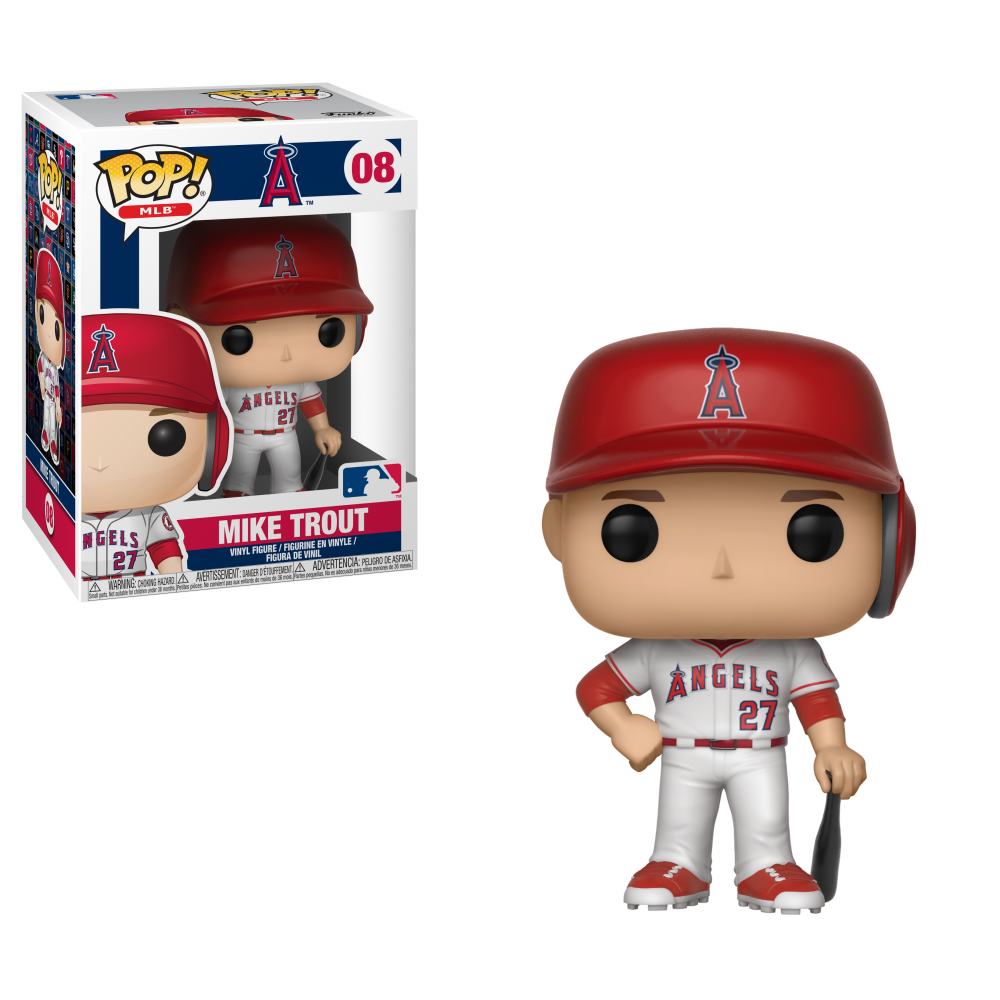 MLB Pop! Vinyl Figure Mike Trout [Anaheim Angels] [08]