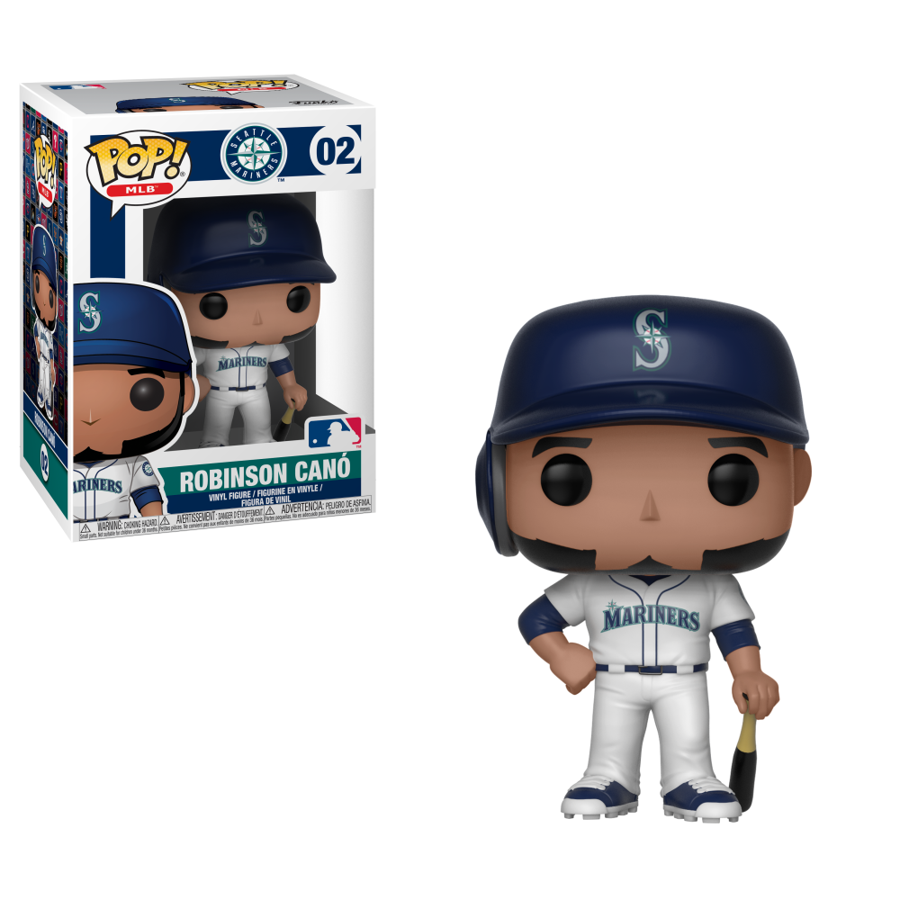 MLB Pop! Vinyl Figure Robinson Cano [Seattle Mariners] [02]