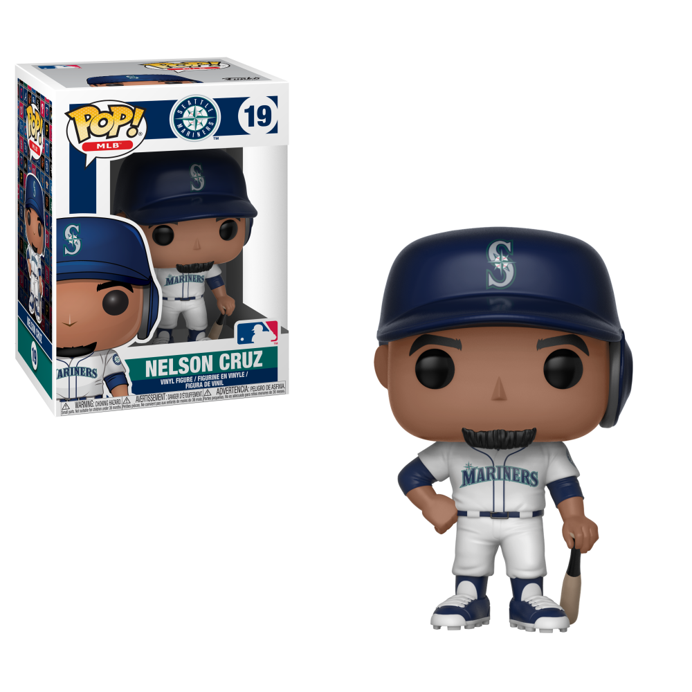 MLB Pop! Vinyl Figure Nelson Cruz [Seattle Mariners] [19]