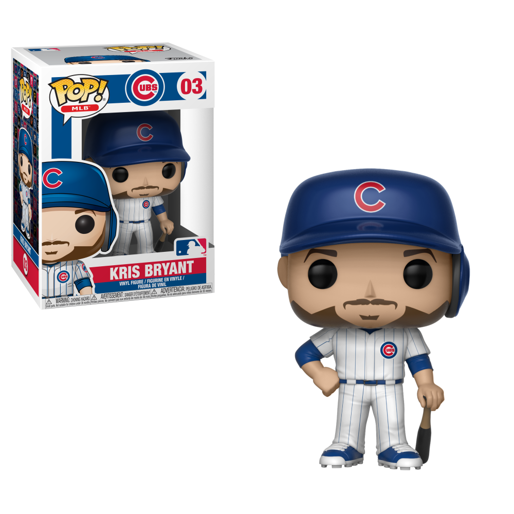 MLB Pop! Vinyl Figure Kris Bryant [Chicago Cubs] [03]