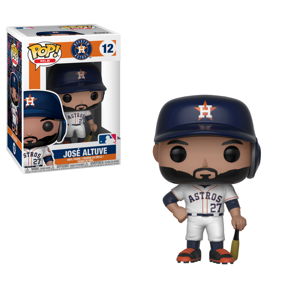 MLB Pop! Vinyl Figure Jose Altuve [Houston Astros] [12]