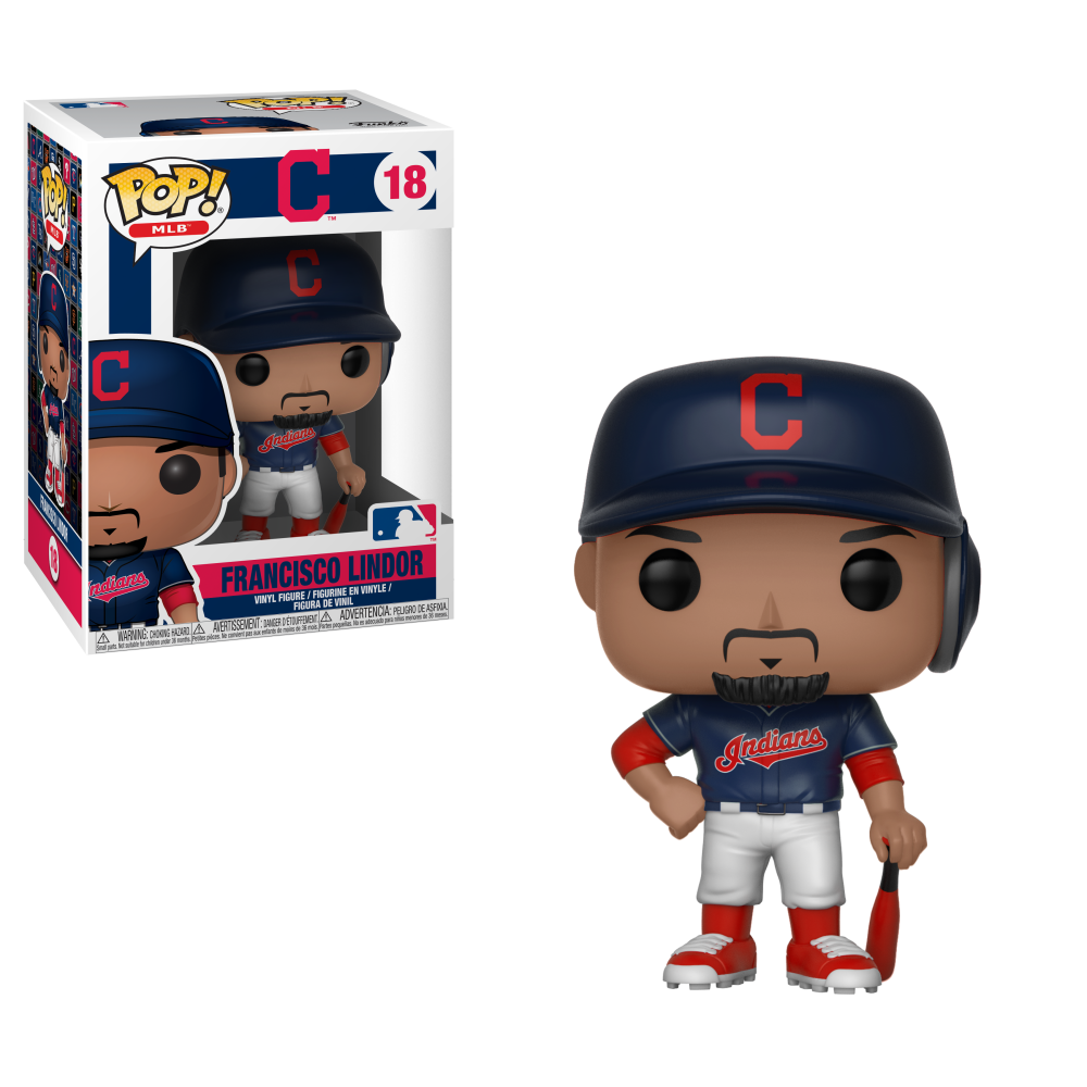 MLB Pop! Vinyl Figure Francisco Lindor [Cleveland Indians] [18]