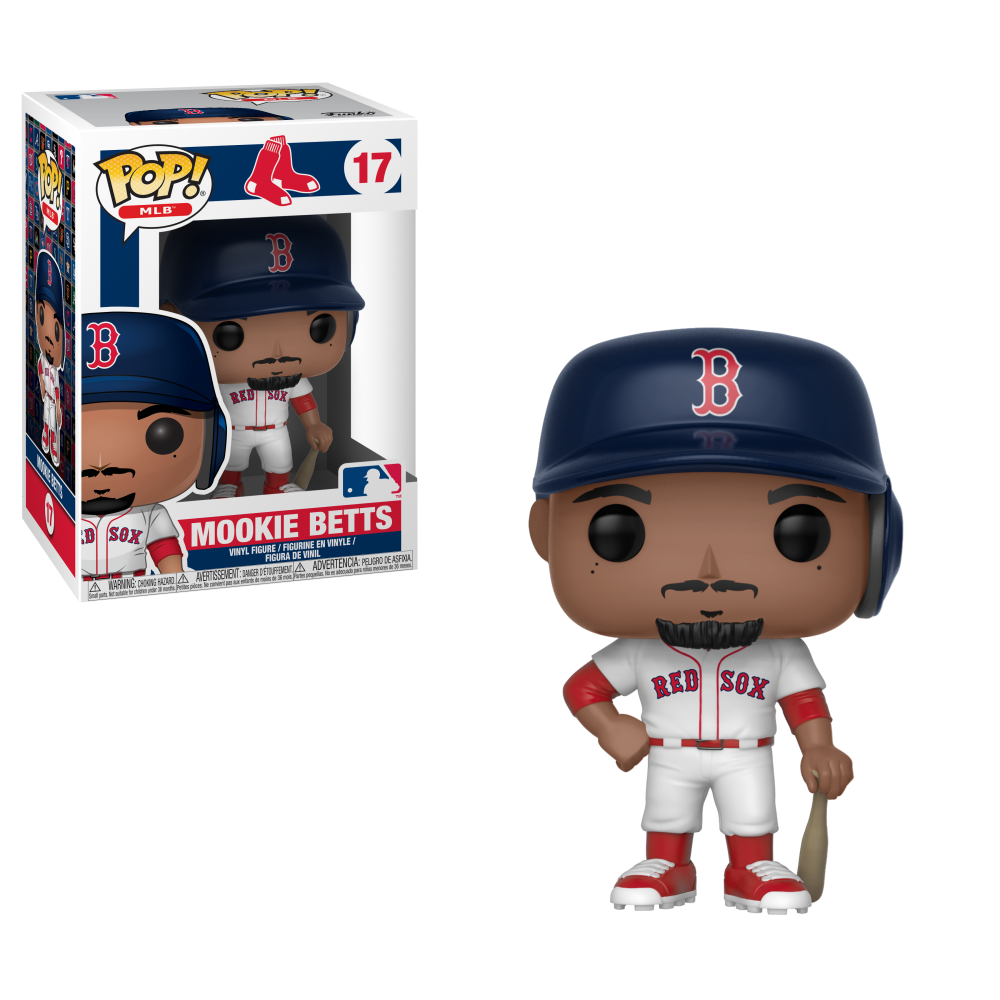 MLB Pop! Vinyl Figure Mookie Betts [Boston Red Sox] [17]