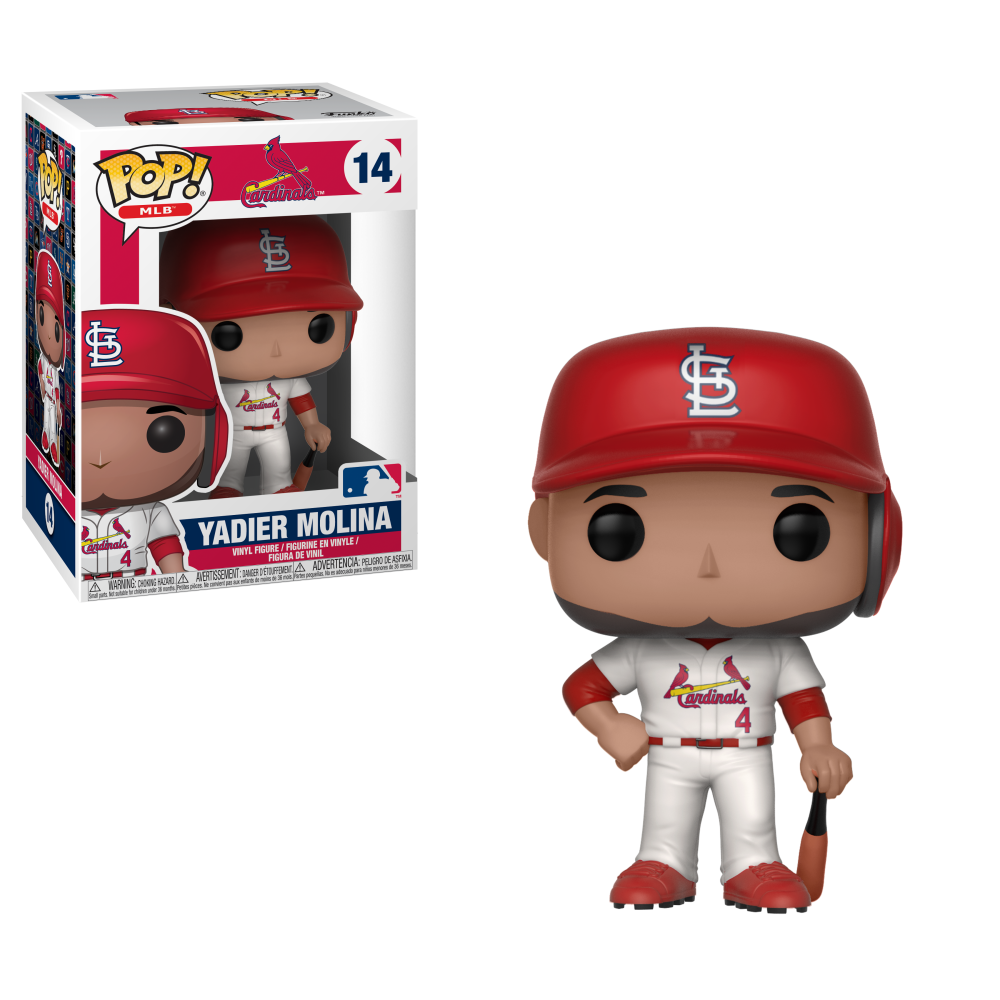 MLB Pop! Vinyl Figure Yadier Molina [St Louis Cardinals] [14]
