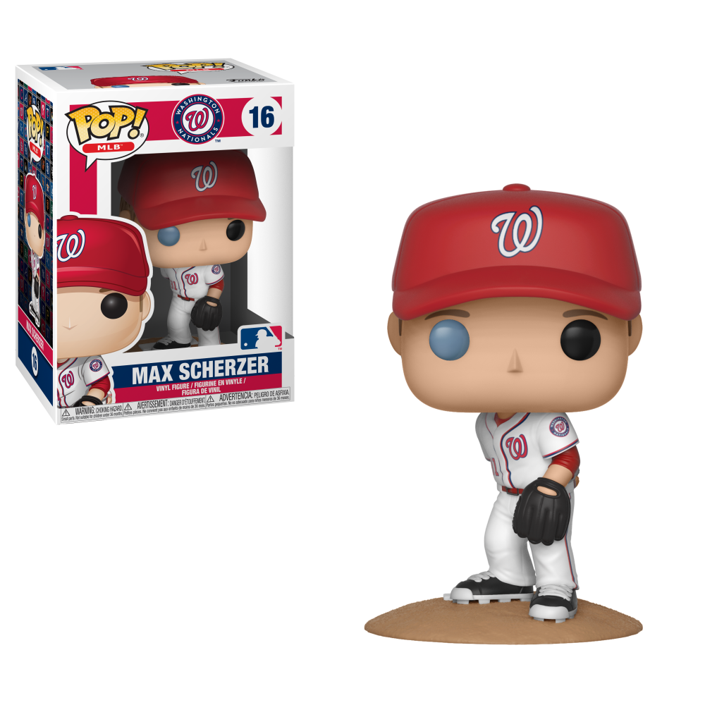 MLB Pop! Vinyl Figure Max Scherzer [Washington Nationals] [16] - Fugitive Toys