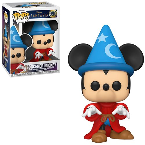Disney Fantasia 80th Anniversary Pop! Vinyl Figure Sorcerer Mickey [990]