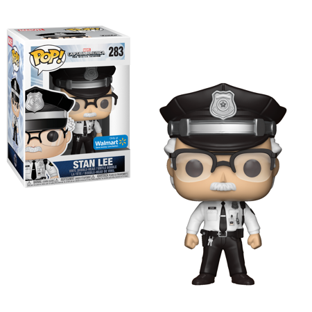 Marvel Pop! Vinyl Police Stan Lee [Captain America Winter Soldier] [Exclusive] [283]