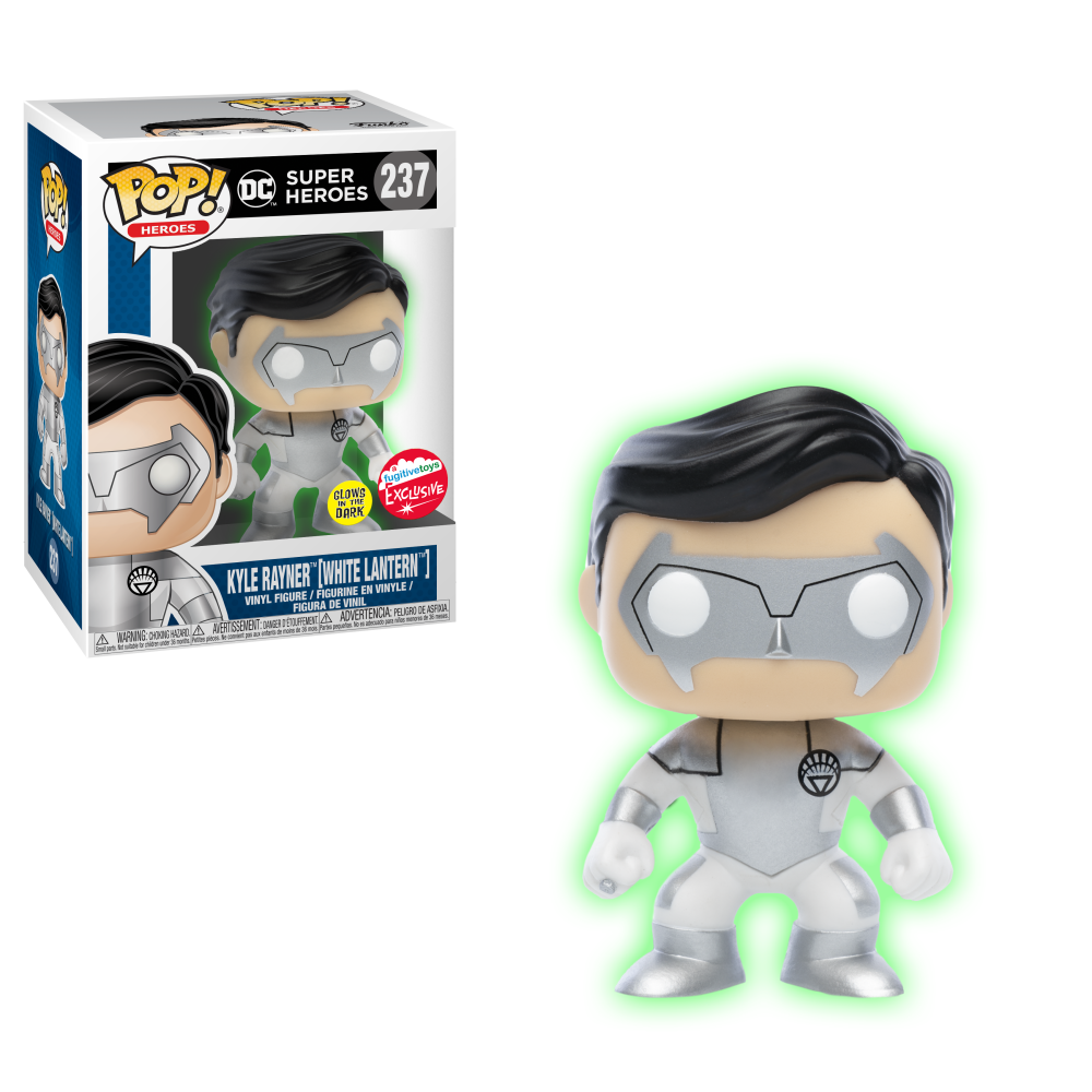 DC Pop! Vinyl Figure White Lantern: Kyle Rayner GITD [Fugitive Toys Exclusive] [237]