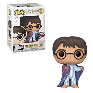 Harry Potter Pop! Vinyl Figure Harry Wearing Invisibility Cloak [111]