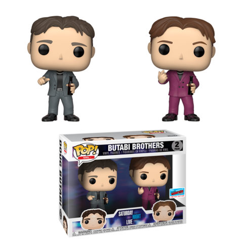 Saturday Night Live Pop! Vinyl Figure Butabi Brothers [NYCC 2018 Exclusive] - Fugitive Toys