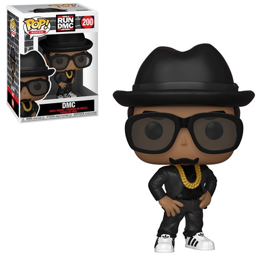 Rocks Pop! Vinyl Figure DMC [Run DMC JMJ 4Ever] 200