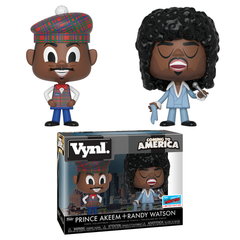 Coming to America 2-pack - Prince Akeem & Randy Watson [NYCC 2018 Exclusive]