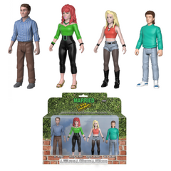 Action Figure - Married with Children 4 Pack [NYCC 2018 Exclusive] - Fugitive Toys
