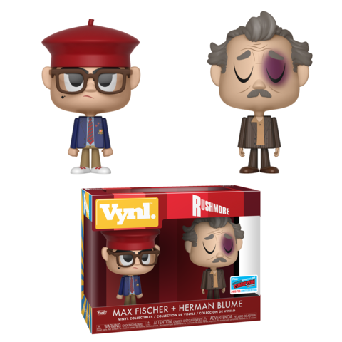 Rushmore 2-pack - Max Fischer & Herman Blume [NYCC 2018 Exclusive]