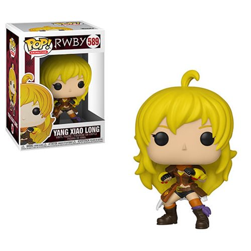 RWBY Pop! Vinyl Figure Yang Xiao Long [589] - Fugitive Toys