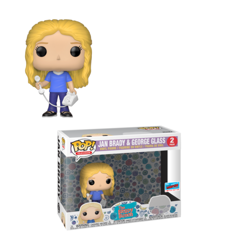 The Brady Bunch Pop! Vinyl Figure Jan Brady & George Glass [NYCC 2018 Exclusive]