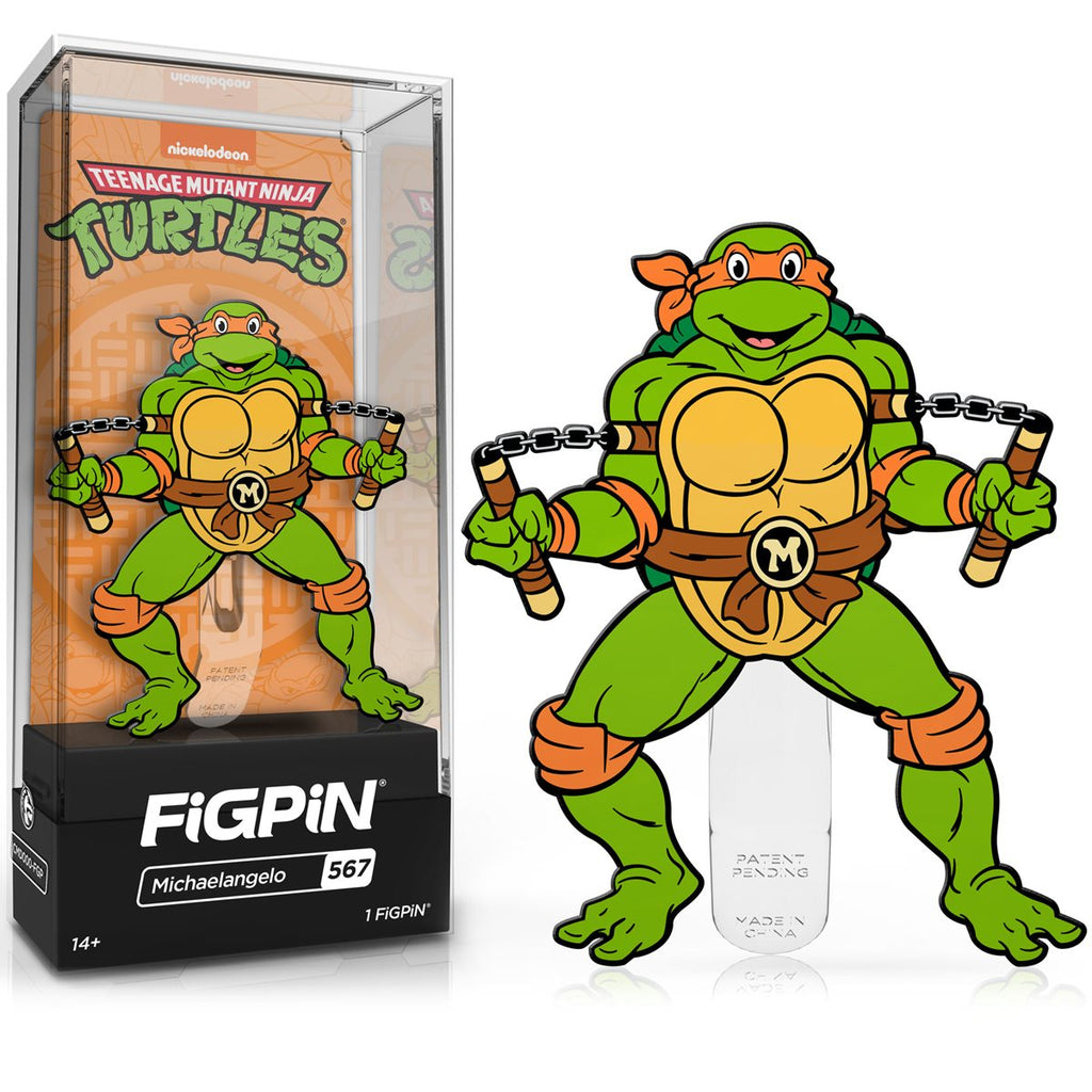 Teenage Mutant Ninja Turtles: FiGPiN Enamel Pin Michaelangelo [567]