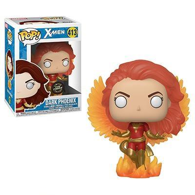 X-Men Pop! Vinyl Figure Dark Phoenix (Flame Wings) (Glow in the Dark) (Chase) [413]