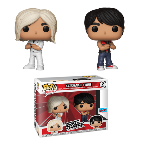 Scott Pilgrim Pop! Vinyl Figure Katayanagi Twins [NYCC 2018 Exclusive]