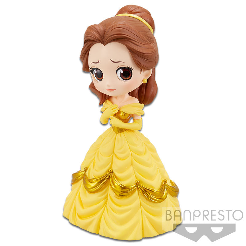 Disney Q Posket Beauty and the Beast Belle (Yellow Dress)