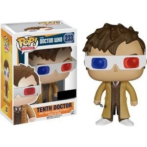 Doctor Who Pop! Vinyl Figure Tenth Doctor (3D Glasses) [233]