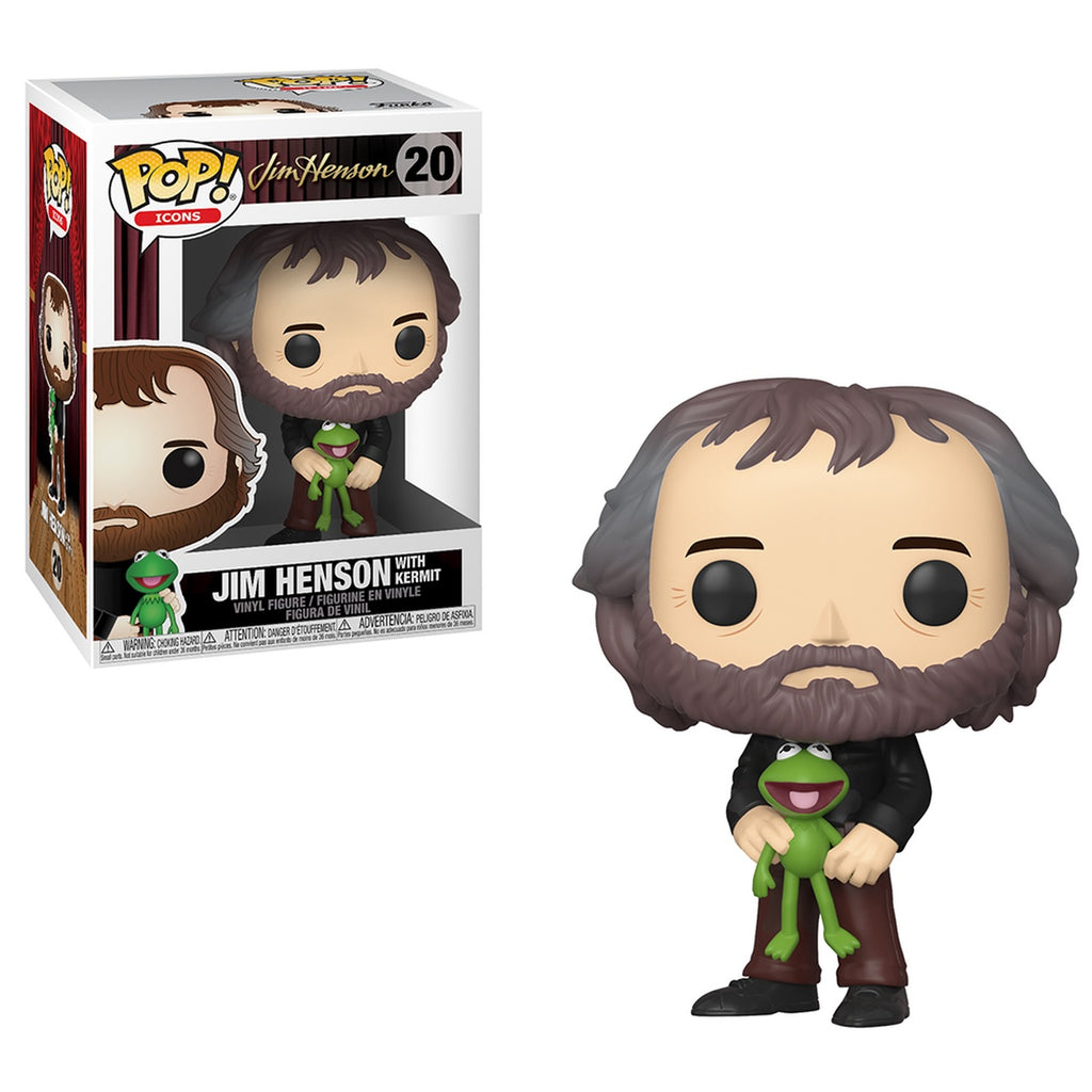Icons Pop! Vinyl Figure Jim Henson with Kermit [Muppets] [20]