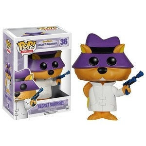 Hanna Barbera: Secret Squirrel Pop! Vinyl Figure Secret Squirrel [36] - Fugitive Toys