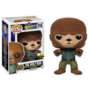 Monsters Pop! Vinyl Figures Flocked The Wolf Man [114]