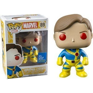 Marvel Pop! Vinyl Figure Unmasked Cyclops [89] - Fugitive Toys