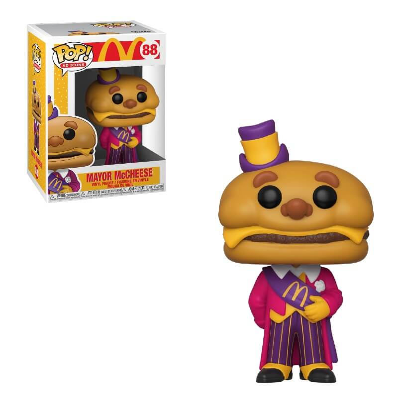 Ad Icons Pop! Vinyl Figure McDonald's Mayor McCheese [88] - Fugitive Toys
