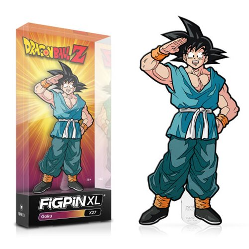 Dragon Ball Z: FiGPiN XL Enamel Pin Goku [X27]