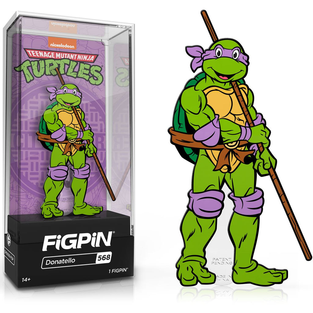 Teenage Mutant Ninja Turtles: FiGPiN Enamel Pin Donatello [568]