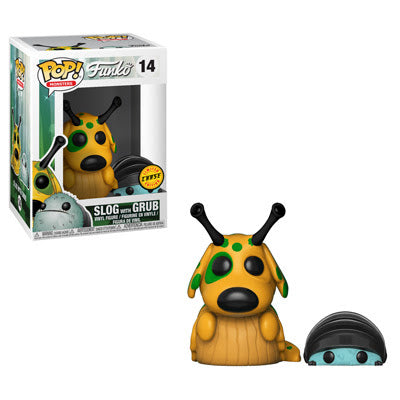 Monsters Pop! Vinyl Figure Slog with Grub (Chase) [14]