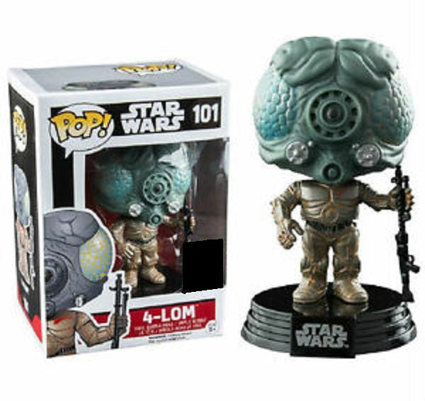 Star Wars Pop! Vinyl Figures 4-Lom [101]