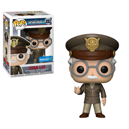 Marvel Pop! Vinyl General Stan Lee [Captain America First Avenger] [Exclusive] [282]