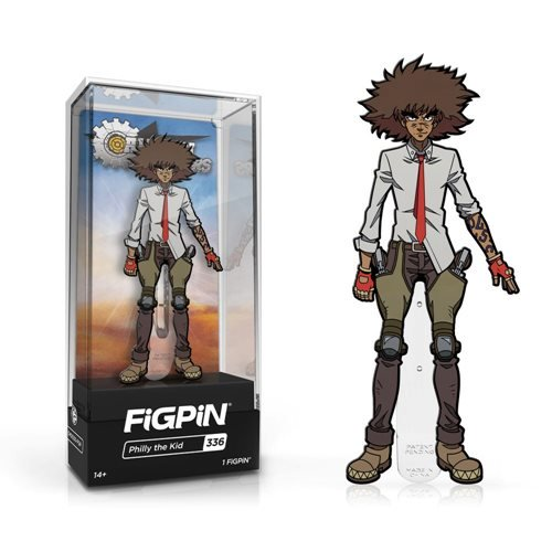 Cannon Busters: FiGPiN Enamel Pin Philly the Kid [336]
