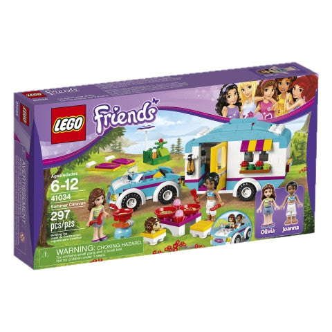 LEGO 41034 Friends Summer Caravan