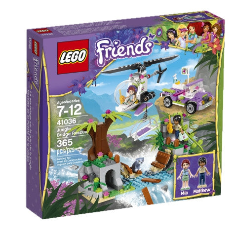 LEGO 41036 Friends Jungle Bridge Rescue