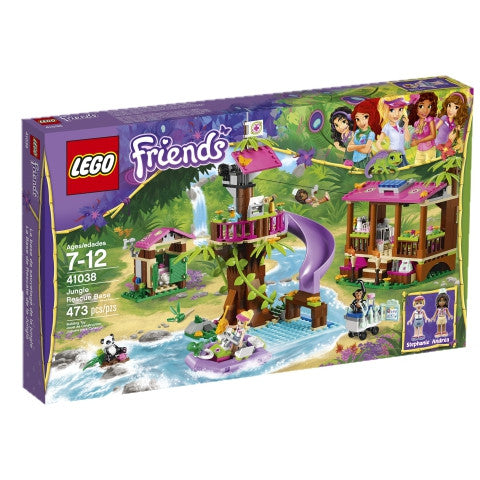 LEGO 41038 Friends Jungle Rescue Base