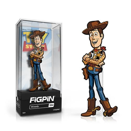 Toy Story 4: FiGPiN Enamel Pin Woody [194]