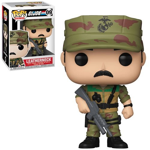 G.I. Joe Pop! Vinyl Figure Leatherneck [09] - Fugitive Toys
