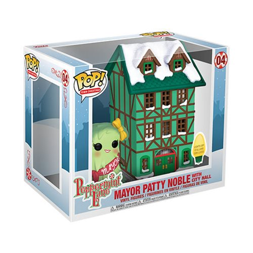 Town Pop! Vinyl Figure Mayor Patty Noble with City Hall [04]